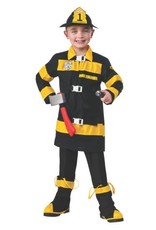 Child Firefighter Small (4-6) Costume