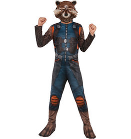 Child Guardians of the Galaxy Rocket Raccoon Medium (8-10)