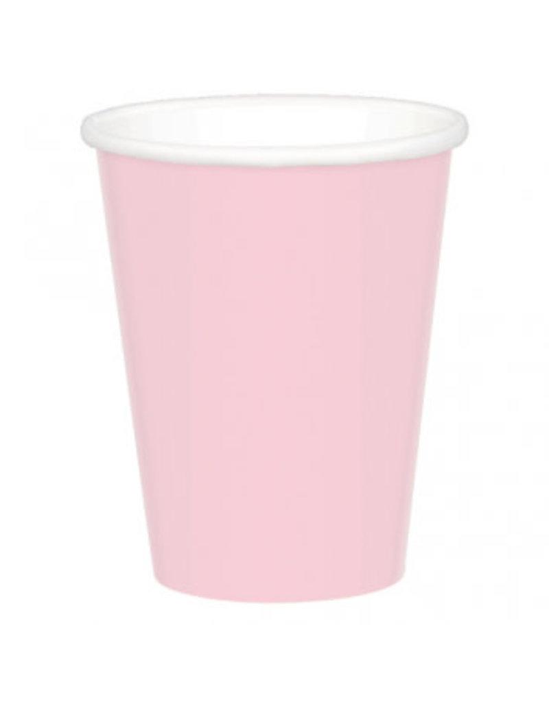 Blush Pink 9oz Paper Cup (20)
