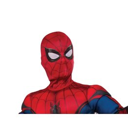 Kids Spider-Man: Far From Home Red/Blue Fabric Mask