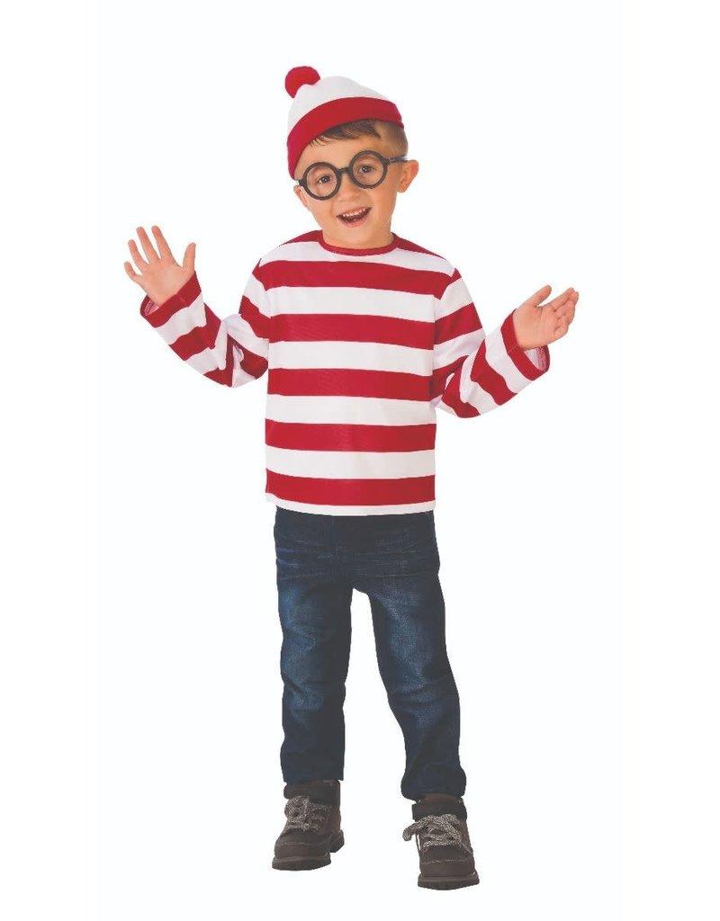 Child Where's Waldo Child Size Small (4-6)