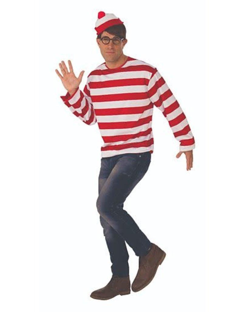 Where's Waldo Adult Extra Large Costume