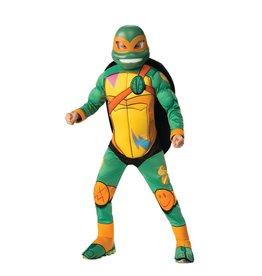 Child Rise of the TMNT Deluxe Michelangelo Costume Medium (8-10)