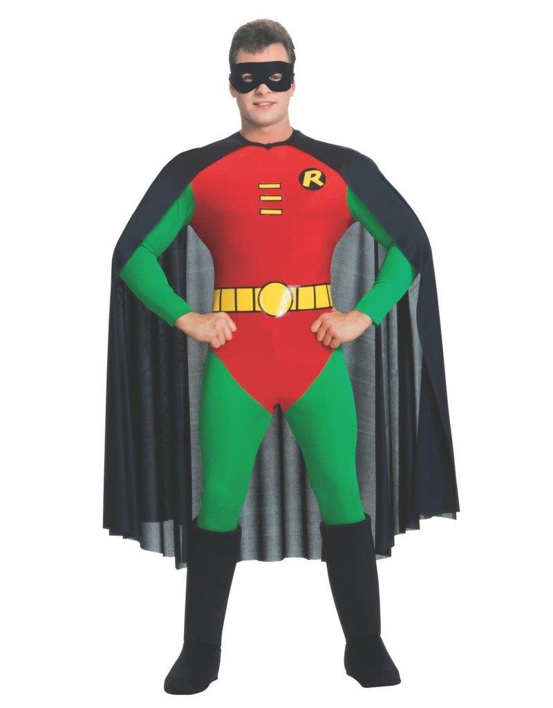 Deluxe Adult Robin Costume - Teen Titans Medium