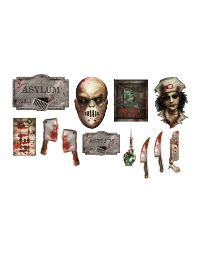 Asylum Cutout Value Pack (12)