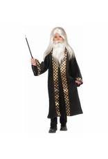Child Wizard Wig, Moustache & Beard