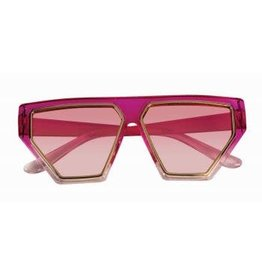 80'S Hot Pink Glasses