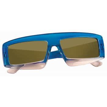 80's Blue Glasses