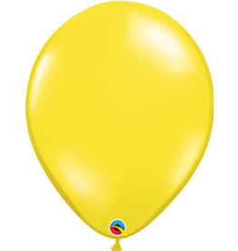 "16"" Citrine Yellow Balloon (Without Helium)"