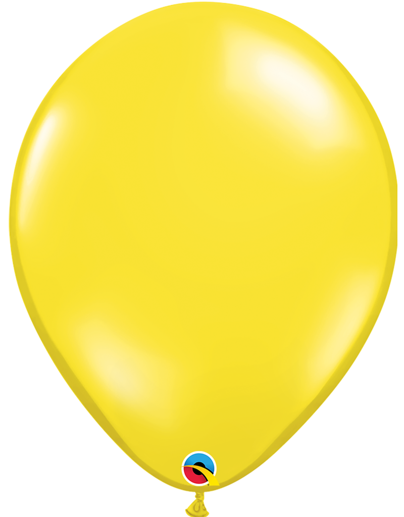 """16"""" Citrine Yellow Balloon (Without Helium)"""