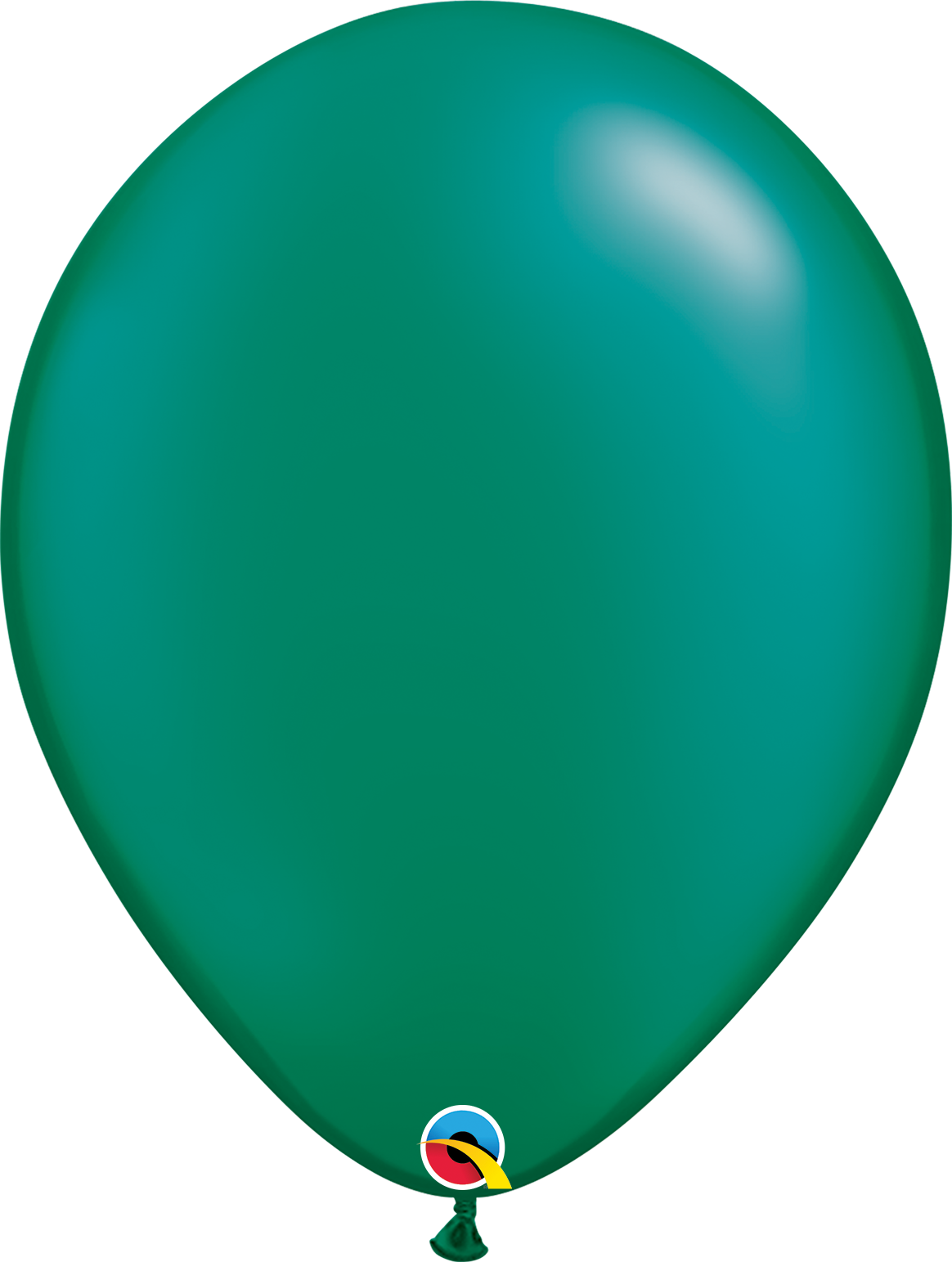 """16"""" Pearl Emerald Green Balloon (Without Helium)"""
