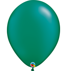 "16"" Pearl Emerald Green Balloon (Without Helium)"