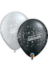 "11"" Congratulations Graduate Balloon (Without Helium)"