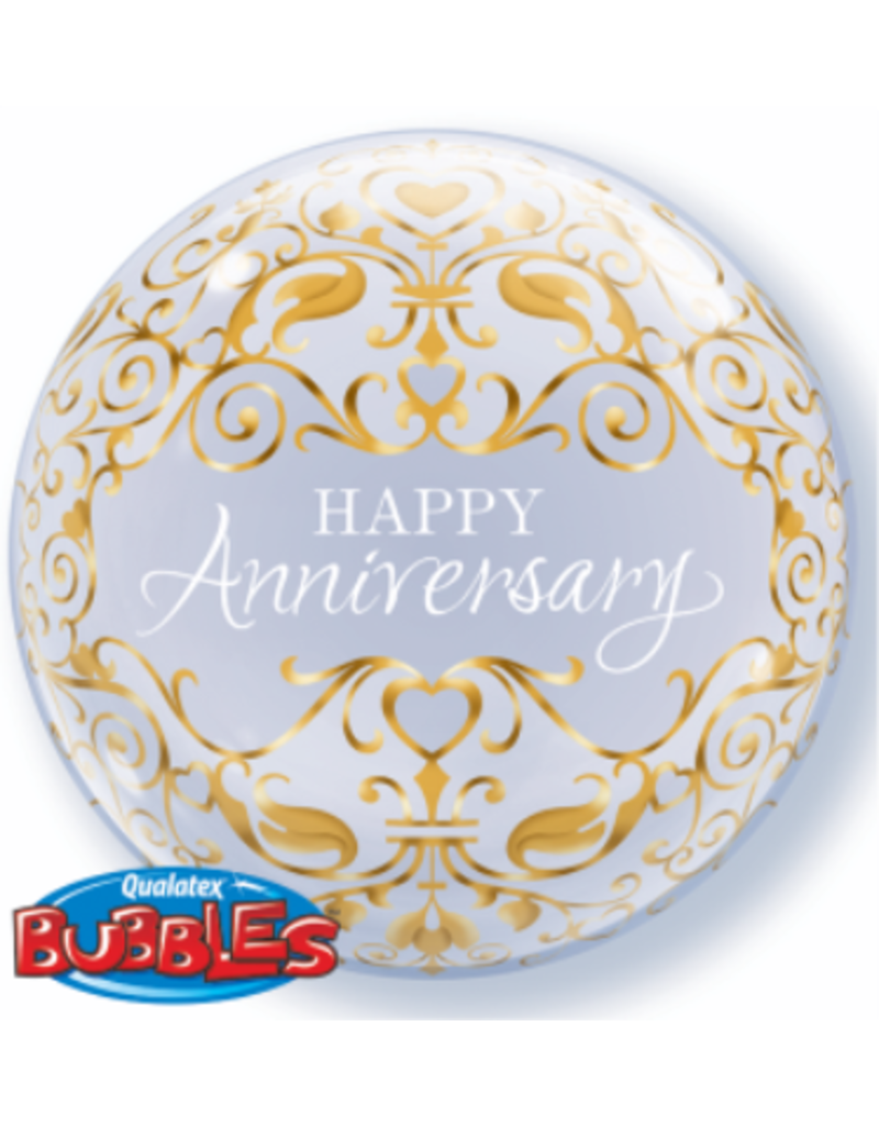 "Anniversary Classic 22"" Bubble Balloon"