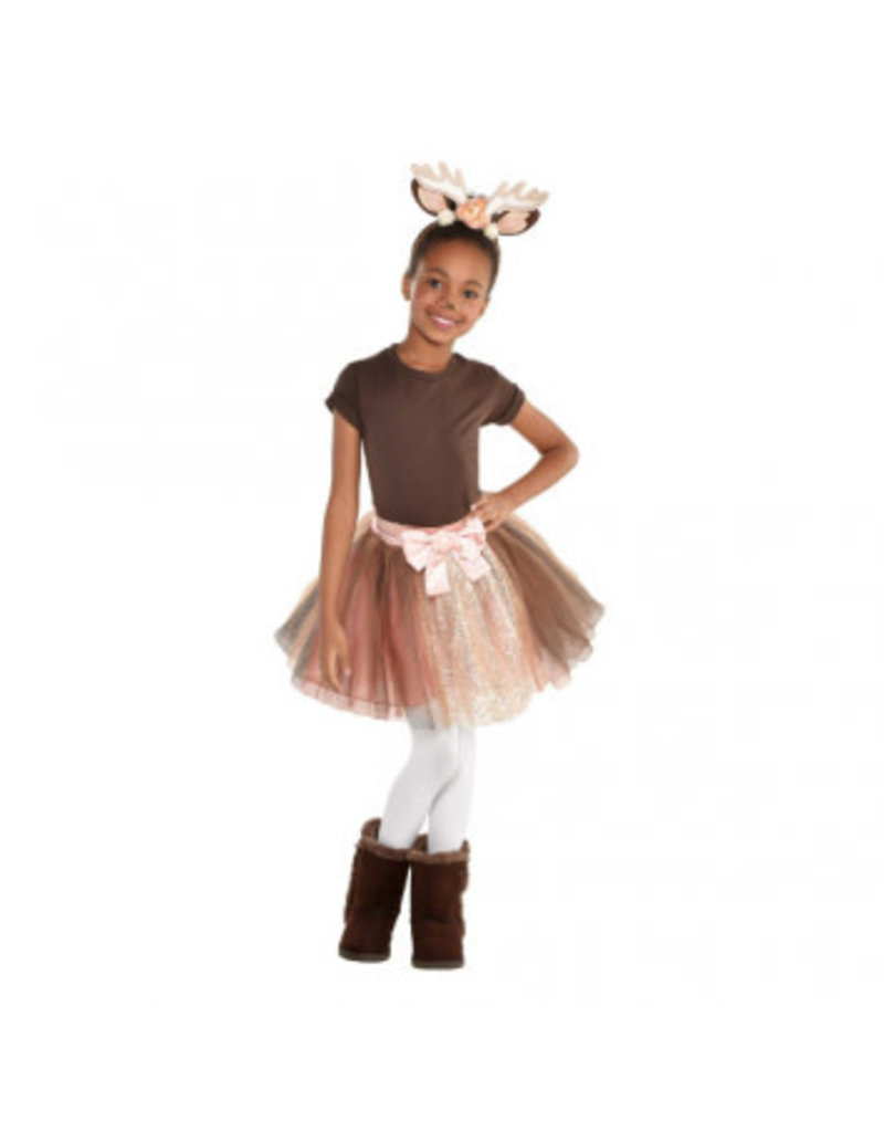 Child Fawn Ears & Tutu One Size