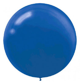 "24"" Royal Blue Balloon (With Helium)"