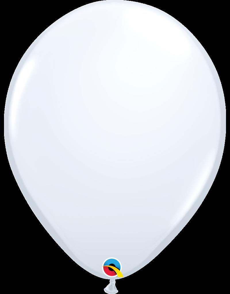 """16"""" White Balloon (Without Helium)"""
