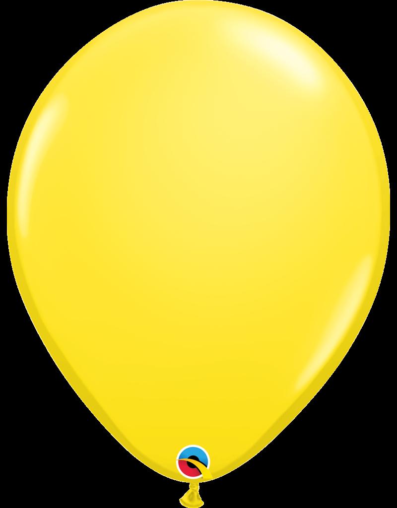 "16"" Yellow Balloon (Without Helium)"