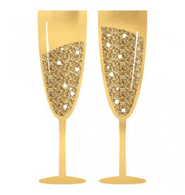 Jumbo Champagne Glass Photo Prop