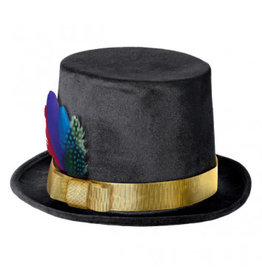 Fancy Feather Top Hat