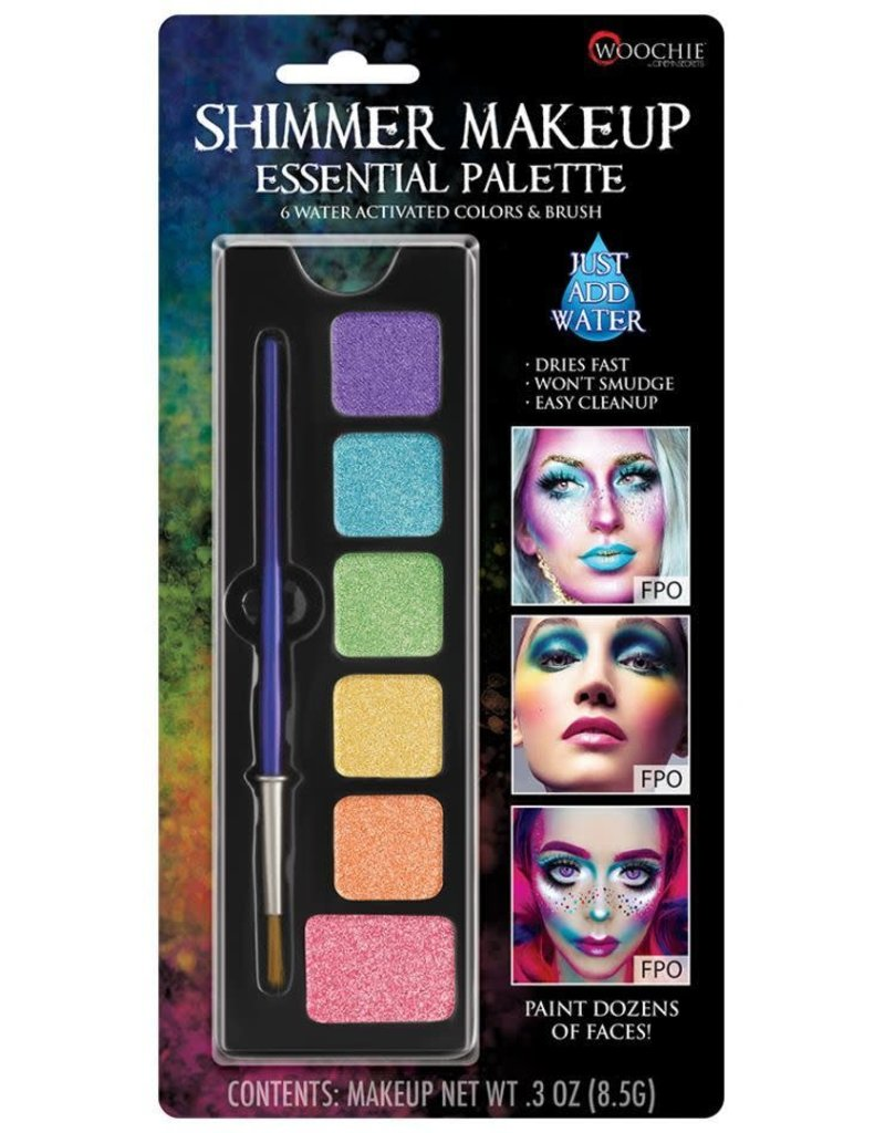 Water Activated Makeup Pastel Palette