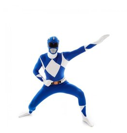 Morphsuit Blue Power Ranger Large