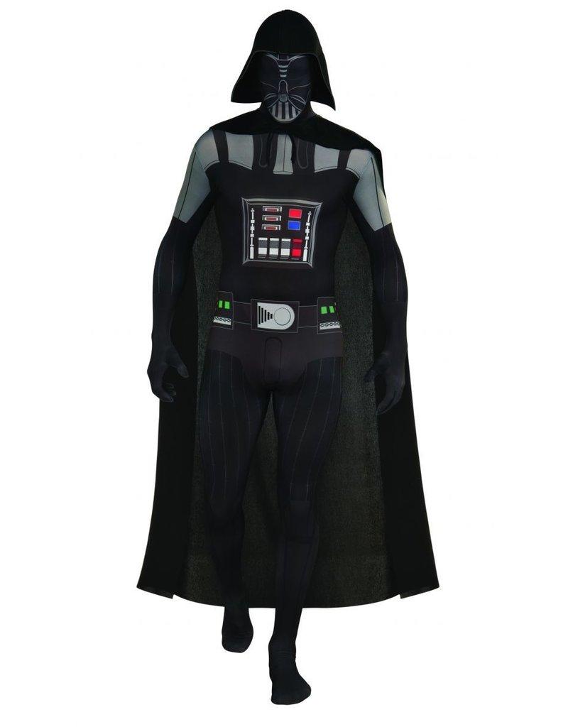 Men's Costume Darth Vader 2ND Skin Suit Large
