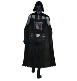 Men's Costume Darth Vader 2ND Skin Suit Medium