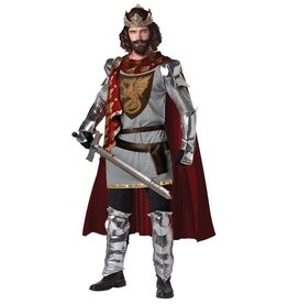 Men's Costume King Arthur Large