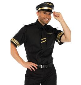 Men's Costume Flight Captain Medium