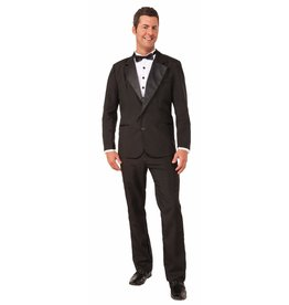 Men's Costume Instant Tuxedo Large