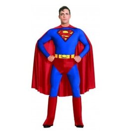 Men's Costume Superman Large
