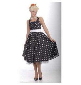 50s Cutie Black M/L Costume