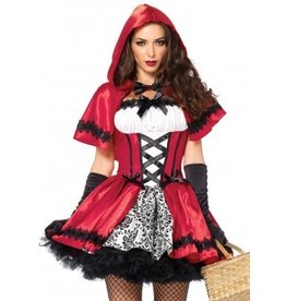 Gothic Red Riding Hood Large