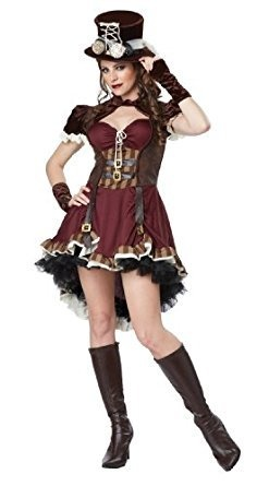 Victorian Steampunk Large Costume