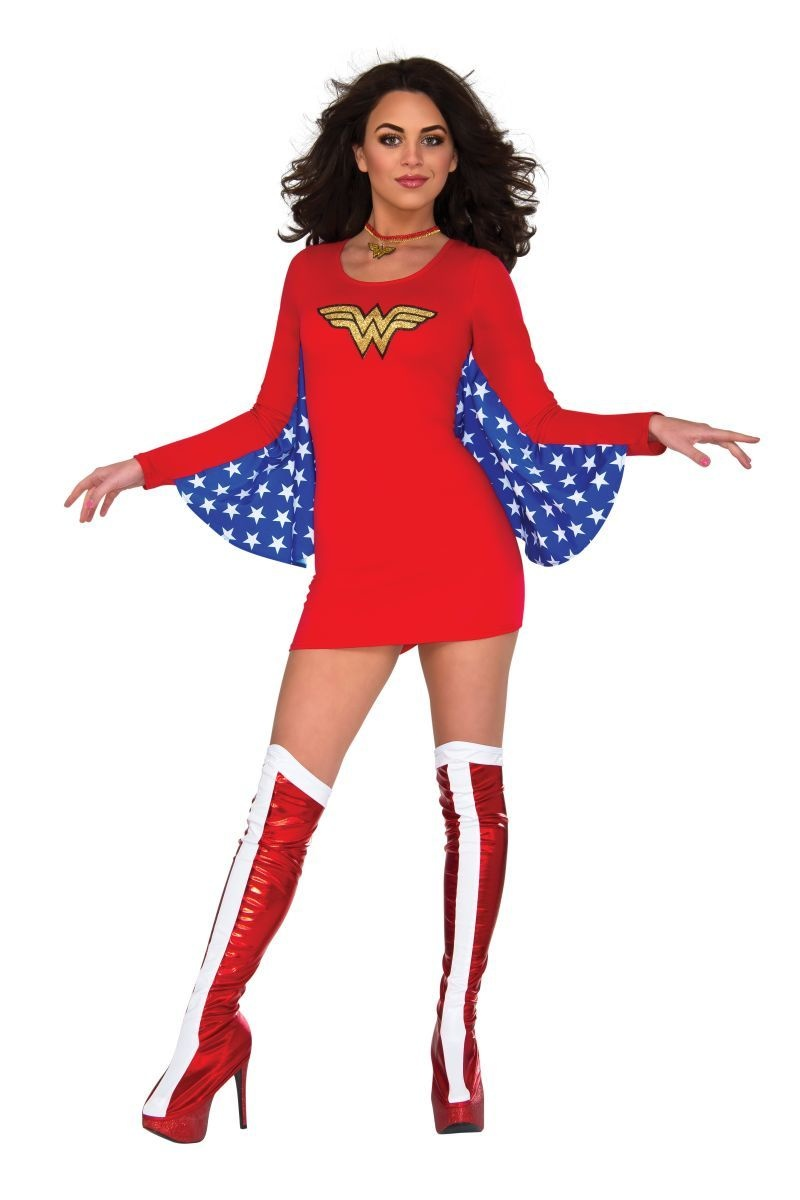 Wonder Woman Dress S/M Costume
