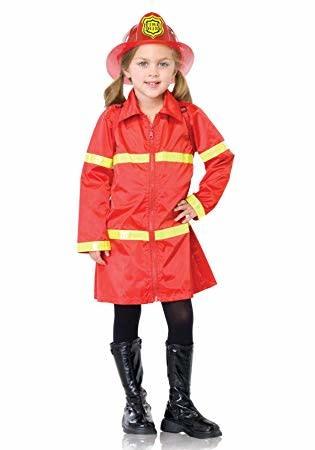 Child Fire Girl Medium (8-10) Costume