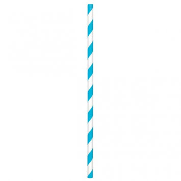 Paper Straws, High Count -Caribbean (80)
