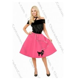 Poodle Skirt Top & Scarf