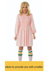Stranger Things Replica Elevens Dress standard Costume
