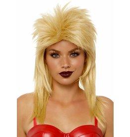 """21"""" Unisex Rockstar Blonde Wig"""