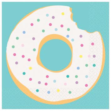 Donut Party Beverage Napkin (16)