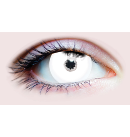 PRIMAL® Mini White Sclera Contacts (90 Day)