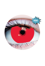 PRIMAL® Mini Red Sclera Contacts (90 Day)
