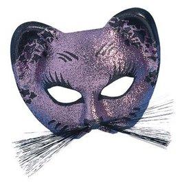 Mask Gattoni Glitter Pink and Black