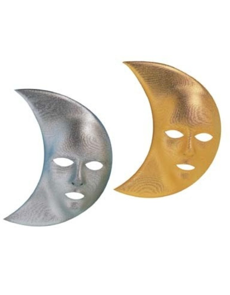 Mask Moon Gold