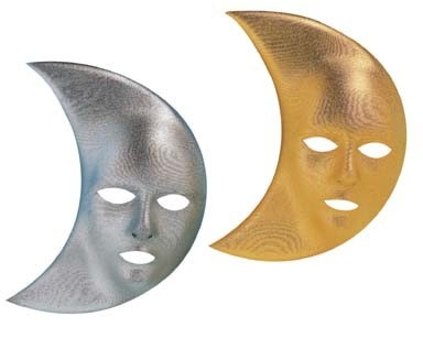 Mask Moon Gold