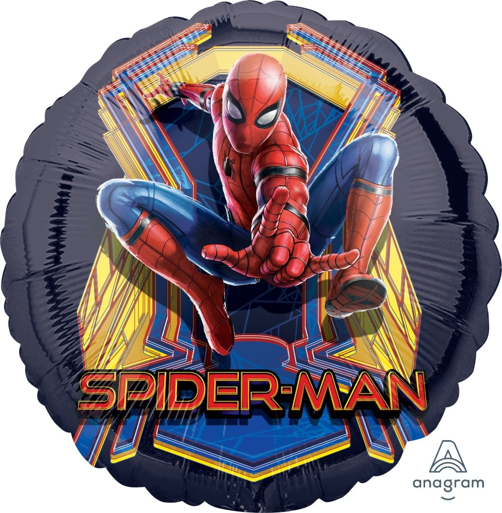 "Spiderman Far From Home 18"" Mylar Balloon"