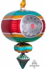"Retro Ornament 33"" Mylar Balloon"