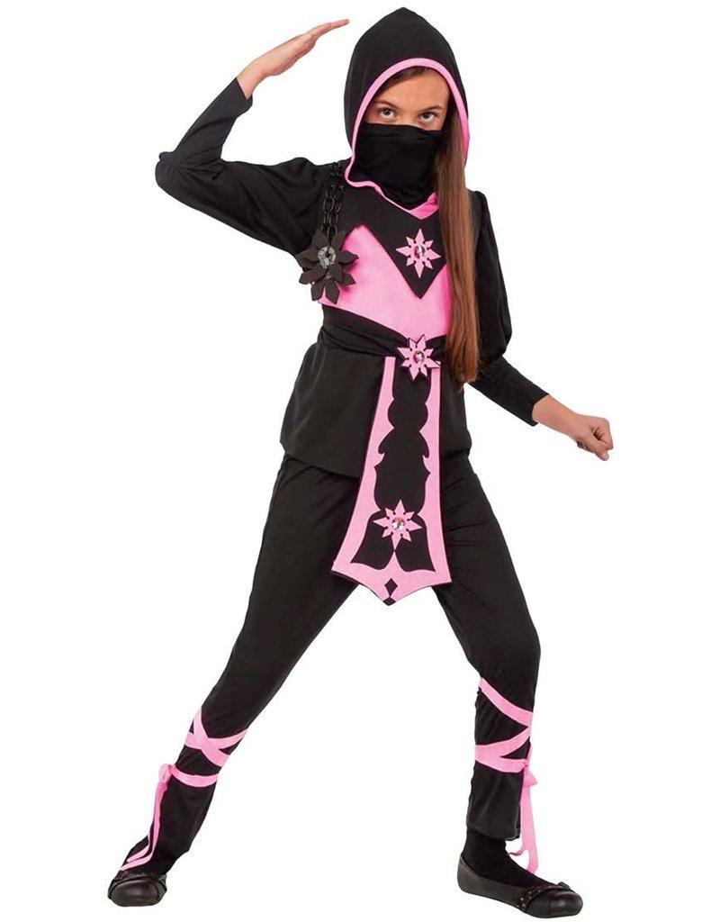 Child Pink Crystal Ninja Large (12-14)